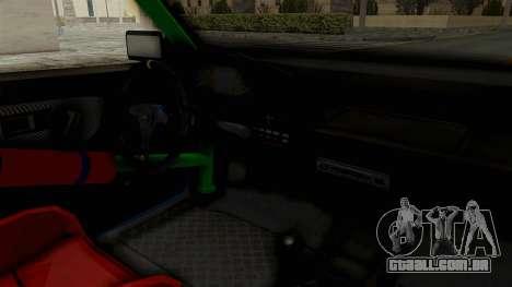 Honda Civic EF9 HellaFlush para GTA San Andreas vista interior