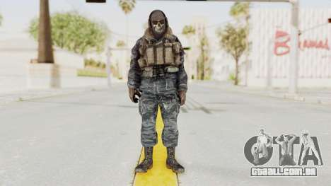 COD MW2 Ghost Ops para GTA San Andreas segunda tela