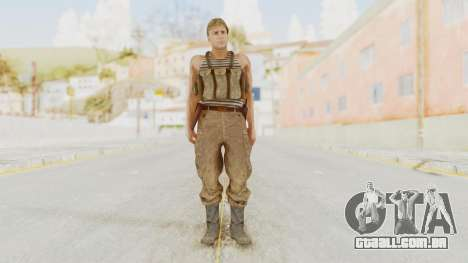 MGSV The Phantom Pain Soviet Union Tanktop v2 para GTA San Andreas segunda tela