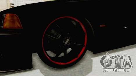 BMW M3 E36 Beast para GTA San Andreas vista traseira