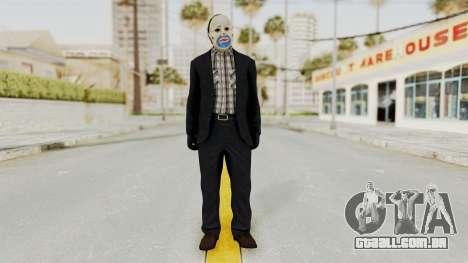 Joker Heist Outfit GTA 5 Style para GTA San Andreas segunda tela