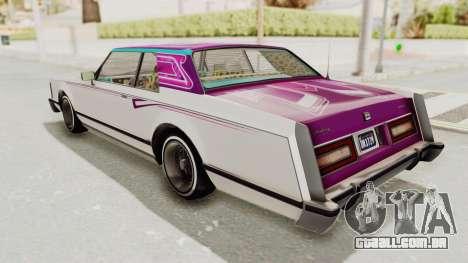 GTA 5 Dundreary Virgo Classic Custom v2 IVF para as rodas de GTA San Andreas