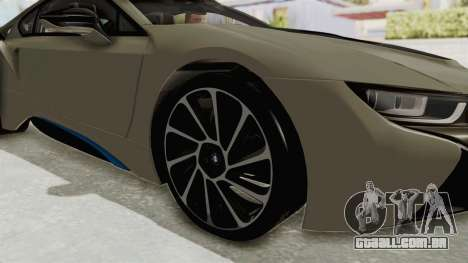 BMW i8-VS 2015 para GTA San Andreas vista traseira