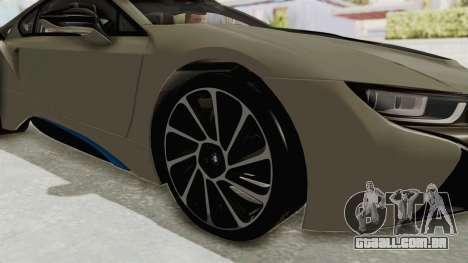 BMW i8-VS 2015 para GTA San Andreas vista traseira