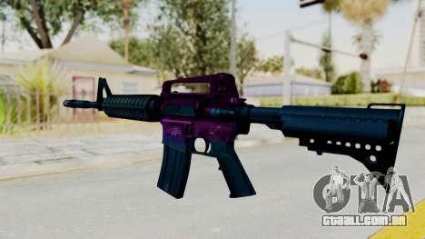 Vice M4 para GTA San Andreas segunda tela