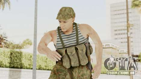 MGSV The Phantom Pain Soviet Union Tanktop v1 para GTA San Andreas