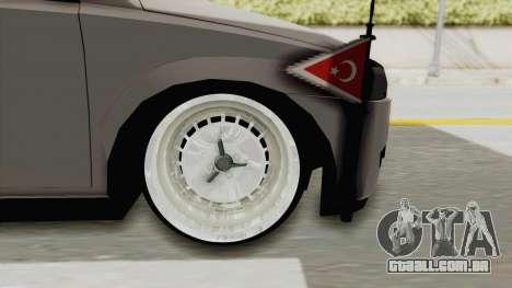 Opel Corsa para GTA San Andreas vista traseira
