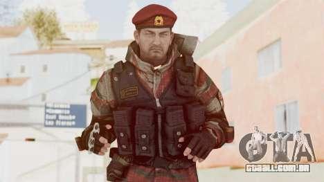 Battery Online Russian Soldier 1 v2 para GTA San Andreas