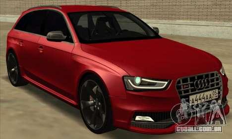 Audi S4 Avant para GTA San Andreas