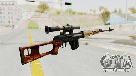 Sniper with New Realistic Crosshair para GTA San Andreas segunda tela