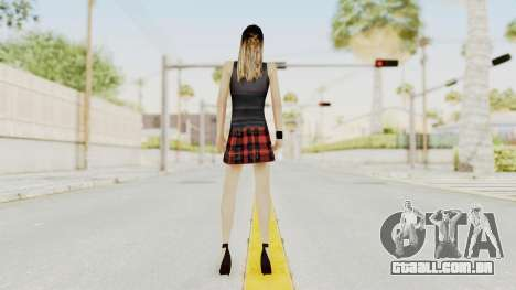 New Skin Michelle para GTA San Andreas terceira tela