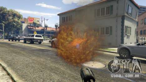 GTA 5 Real Flamethrower 1.5 quinta imagem de tela