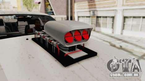 Ford Mustang 2005 Monster Truck para GTA San Andreas vista interior