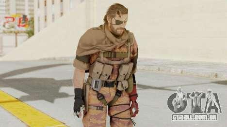 MGSV The Phantom Pain Venom Snake Scarf v5 para GTA San Andreas