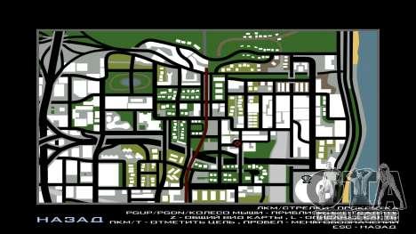 San Andreas Multiplayer Graffiti para GTA San Andreas por diante tela