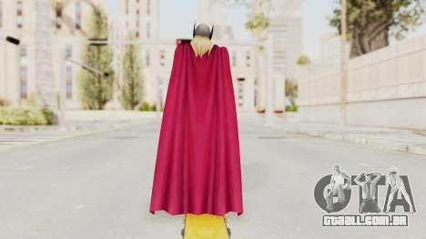 Marvel Future Fight - Thor (Jane Foster) para GTA San Andreas terceira tela