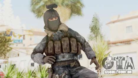 COD 4 Custom Russian Soldier para GTA San Andreas