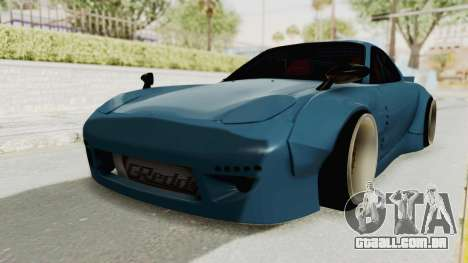 Mazda RX-7 FD3S Rocket Bunny v2 para GTA San Andreas