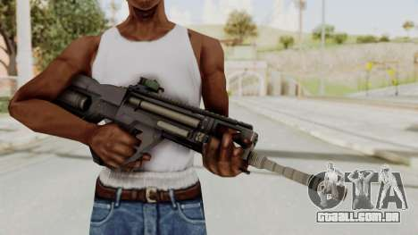 Integrated Munitions Rifle Black para GTA San Andreas terceira tela