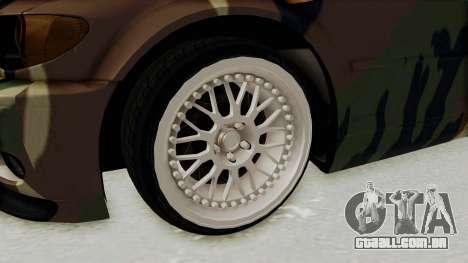 BMW 3 Series E46 para GTA San Andreas vista traseira