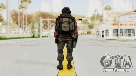 Battery Online Russian Soldier 7 para GTA San Andreas terceira tela