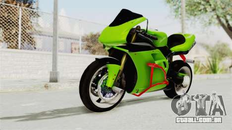 Ducati 998R Modif Stunt para GTA San Andreas