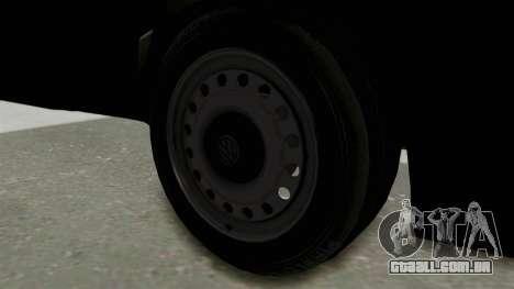 Volkswagen Golf 2 Tuning para GTA San Andreas vista traseira