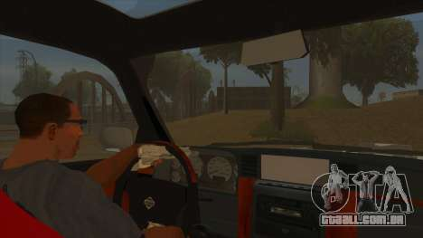 Nissan Patrol Y61 para GTA San Andreas vista interior
