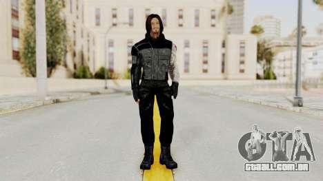 Captain America Civil War - Winter Soldier para GTA San Andreas segunda tela