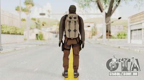 Battlefiled Hardline Professional Crime para GTA San Andreas terceira tela
