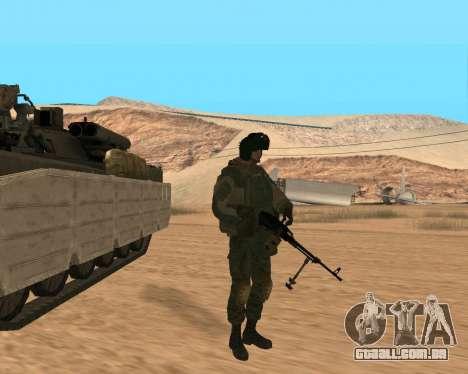 Forças especiais da Federação russa para GTA San Andreas sexta tela