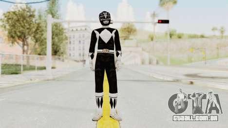 Mighty Morphin Power Rangers - Black para GTA San Andreas segunda tela