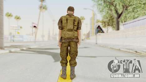 MGSV The Phantom Pain Soviet Union No Sleeve v1 para GTA San Andreas terceira tela