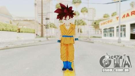 Dragon Ball Xenoverse Gohan Teen DBS SSG v2 para GTA San Andreas segunda tela