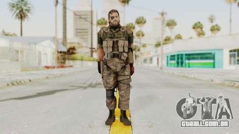 MGSV The Phantom Pain Venom Snake Wetwork para GTA San Andreas segunda tela