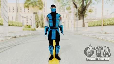 Mortal Kombat X Klassic Sub Zero UMK3 v2 para GTA San Andreas segunda tela