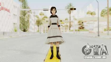 Bioshock Infinite Elizabeth Young para GTA San Andreas segunda tela