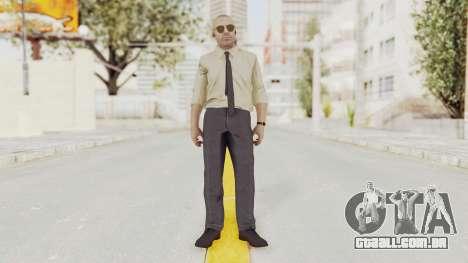 COD BO Hudson Pentagon para GTA San Andreas segunda tela