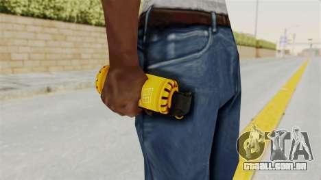 Tear Gas Gold para GTA San Andreas terceira tela