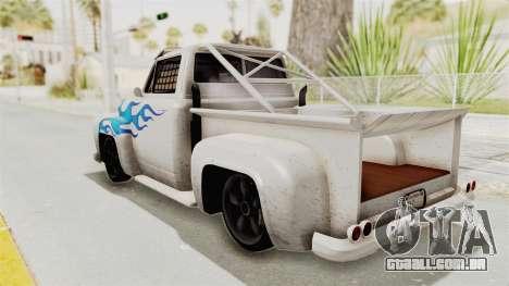 GTA 5 Slamvan Race PJ1 para GTA San Andreas esquerda vista