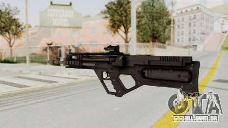 Integrated Munitions Rifle Black para GTA San Andreas segunda tela