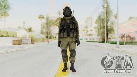 Advanced Warfare North Korean Assault Soldier para GTA San Andreas segunda tela