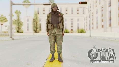 MGSV Ground Zeroes US Pilot v1 para GTA San Andreas segunda tela