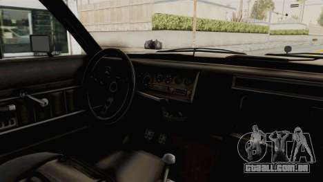 GTA 4.5 Greenwood v.0.9 para GTA San Andreas vista interior