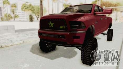 Dodge Ram Megacab Long Bed para GTA San Andreas