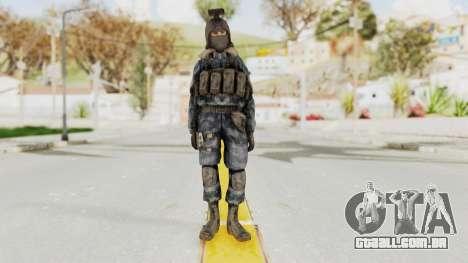 COD 4 Custom Russian Soldier para GTA San Andreas segunda tela