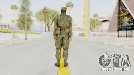 MGSV Ground Zeroes US Soldier Armed v1 para GTA San Andreas terceira tela