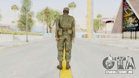 MGSV Ground Zeroes US Soldier Armed v1 para GTA San Andreas terceira tela