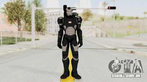 Captain America Civil War - War Machine para GTA San Andreas segunda tela