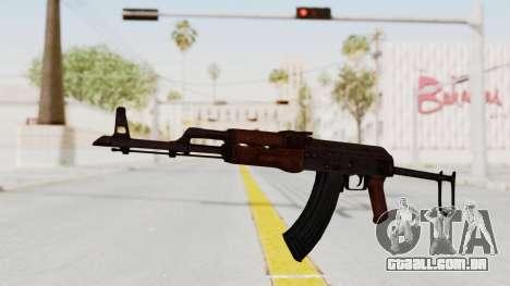 kbk AKMS para GTA San Andreas segunda tela